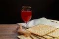 Jewish holiday Pesah celebration concept Passover