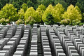 Jewish Holocaust Memorial, berlin germany Stock Photos