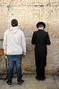 Jewish men praying Royalty Free Stock Photography