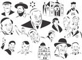 Jewish People Royalty Free Stock Photos