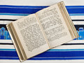 Jewish Prayer Book, Siddur, Prayer Shawl, Tallit Stock Photos