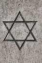 Jewish star Stock Photography