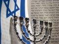 Jewish symbols Stock Image
