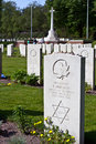 Jewish World War Two grave Stock Image