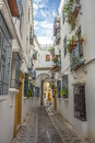 Jewry street in cordoba spain Royalty Free Stock Photos