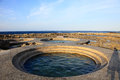 Jhaorih Hot Spring,Green Island,Taiwan Royalty Free Stock Photo