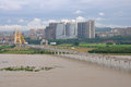 The jialing river in nanchong china is said to be an important central city northeastern sichuan province and middle reaches of Royalty Free Stock Photo