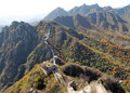 Jiankou Greatwall Royalty Free Stock Image