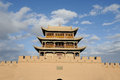 JiaYuGuan city Royalty Free Stock Image