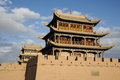 JiaYuGuan city Royalty Free Stock Photo