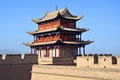 Jiayuguan in gansu province china Stock Photography