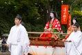 Jidai matsuri festival in japan kyoto october kyoto on october participants at the historical parade one of kyoto s renowned three Stock Images