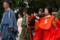 Jidai matsuri festival kyoto japan october the traditional procession at the Royalty Free Stock Photos