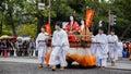 Jidai matsuri in kyoto japan october on october unidentified participants at the historical parade one of kyotos Stock Image