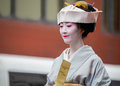 Jidai matsuri in kyoto japan october on october unidentified participants at the historical parade one of s Royalty Free Stock Photo