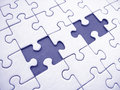 Jigsaw Stock Photo
