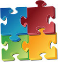 Jigsaw pieces Royalty Free Stock Image