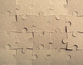 Jigsaw puzzle background Stock Images