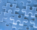 Jigsaw puzzle pieces as background Royalty Free Stock Photo