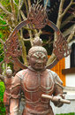 Jikoku ten one of the four celestial guardians at hase dera buddhist temple in kamakura japan Stock Image
