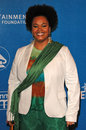 Jill scott at the inaugural grammy jam event featuring earth wind fire at the wiltern lg theater los angeles ca Stock Images
