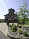 Jim beam stillhouse and distillery at clermont kentucky usa is a brand of kentucky straight bourbon whiskey Royalty Free Stock Photos