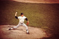 Jim catfish hunter former new york yankees great pitcher image taken from color slide Stock Photo