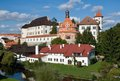 Jindrichuv hradec czech republic castle in southern bohemia Royalty Free Stock Photography