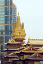 Jing an temple Images stock