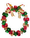 Jingle Bell Wreath Royalty Free Stock Image
