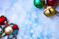 Jingle Bells and ornaments Royalty Free Stock Photo