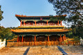 Jingshan park in beijing marco polo bridge which is also called the lugouqiao bridge about kilometers southwest of fengtai Stock Image
