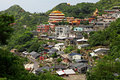 Jinguashi village , in Taiwan Royalty Free Stock Photography