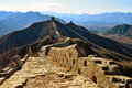 Jinshanling Great Wall in Hebei Royalty Free Stock Photo