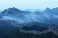 Jinshanling Great Wall Royalty Free Stock Photo