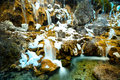 Jiuzhaigou waterfall Royalty Free Stock Photography