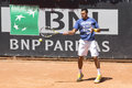 Jo wilfried tsonga trains at internazionali bnl rome Royalty Free Stock Image