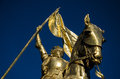 Joan of Arc - Jeanne d'Arc - New Orleans Royalty Free Stock Photo