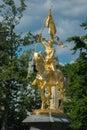 Joan of Arc statue at Philadelphia Royalty Free Stock Photo
