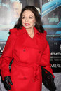 Joan collins los angeles mar arrives at the hbo s his way los angeles premiere at paramount theater on march in los angeles ca Stock Photography