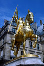 Joan d'Arc Royalty Free Stock Photography