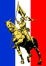 Joan d'arc Images libres de droits