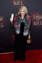 Joan rivers new york oct comedienne attends the broadway opening night of a time to kill at the golden theatre on october in new Stock Image