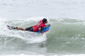 Joao barciela ovar portugal august at the nd stage of the bodyboard protour on august in ovar portugal Stock Image