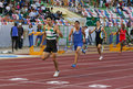 Joao Ferreira (SCP) 400 meters men Stock Photography