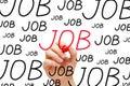 Job Concept Royalty Free Stock Photo