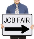 Job Fair Stock Photo