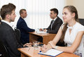 Job interview Royalty Free Stock Photo