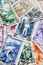 Job postage stamps Royalty Free Stock Images