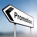 Job promotion concept. Royalty Free Stock Photos
